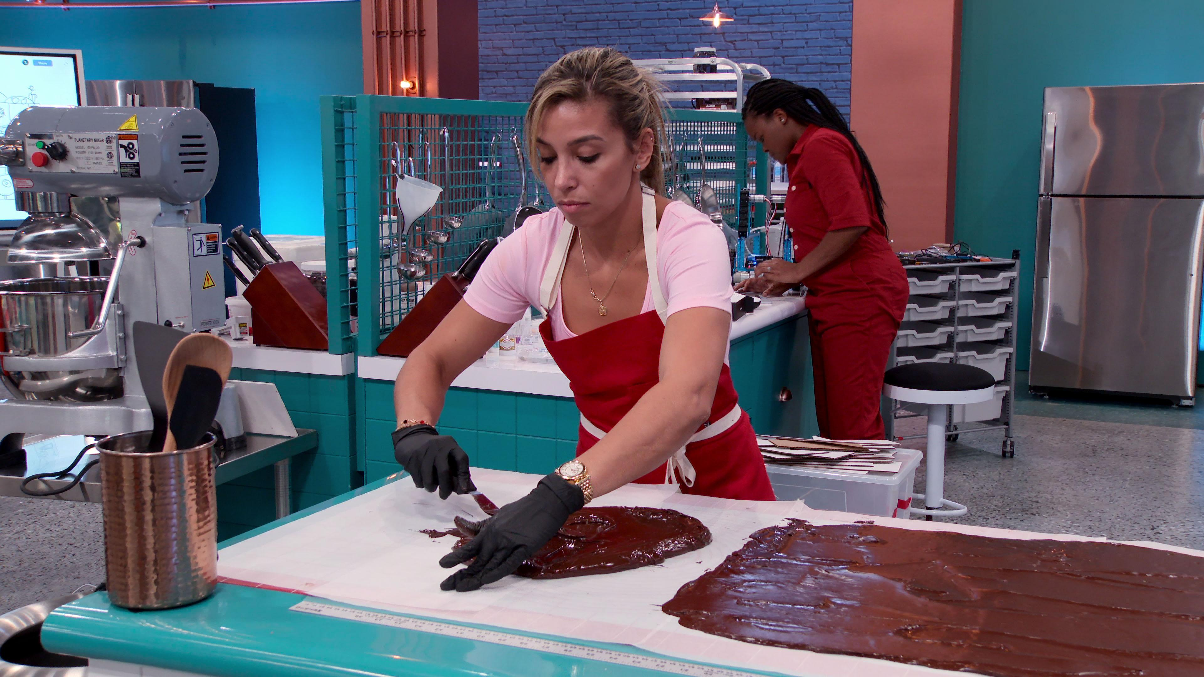 Vanessa Barcelo on 'Baking Impossible'